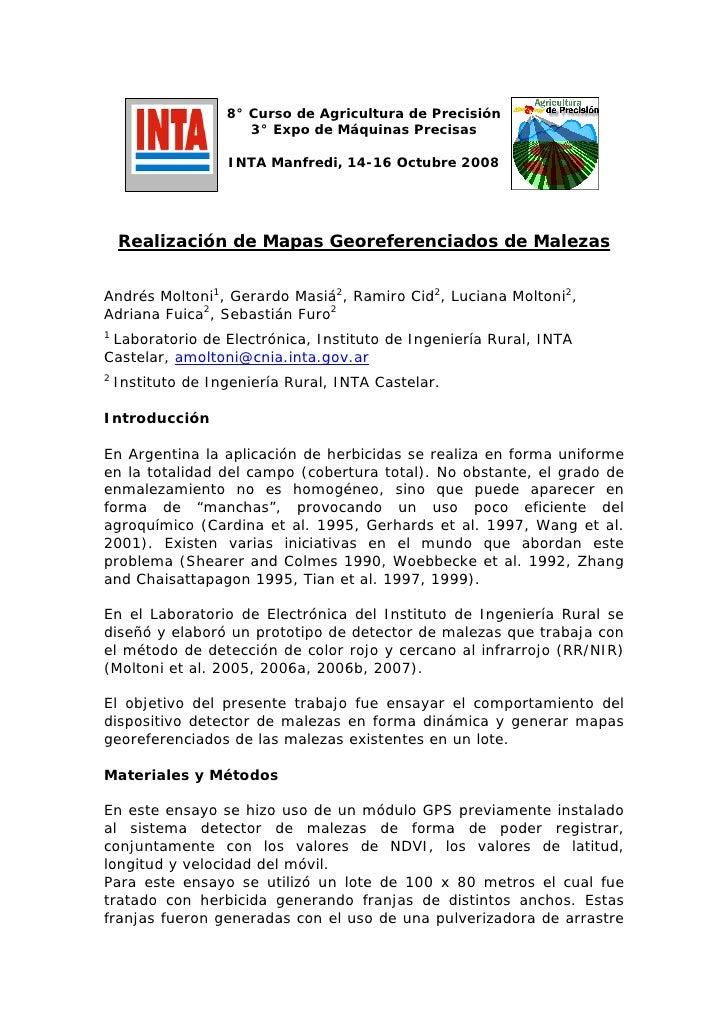 Georreferenciacion T.P. Malezas