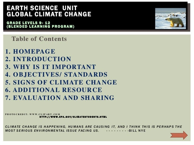 Geo science   global climate change lec