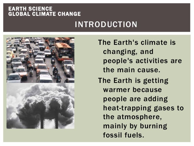 SCIENCE....Global climate?