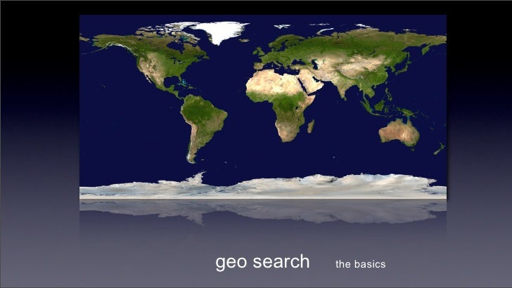 Geo search introduction
