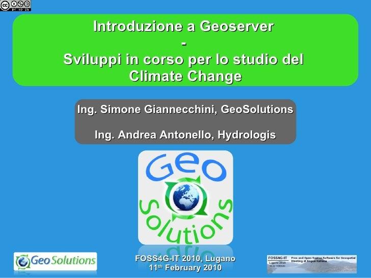 Geosolutions Foss4g It 2010