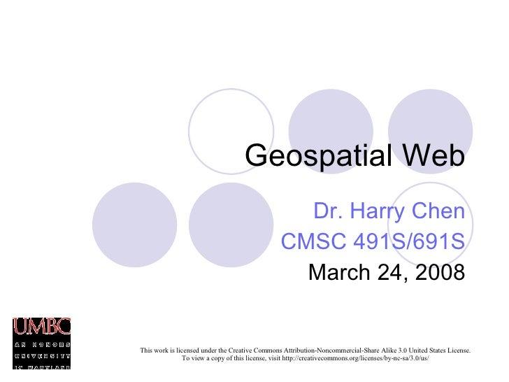Geospatial Web