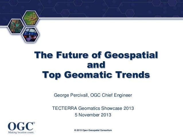 Geospatial trends