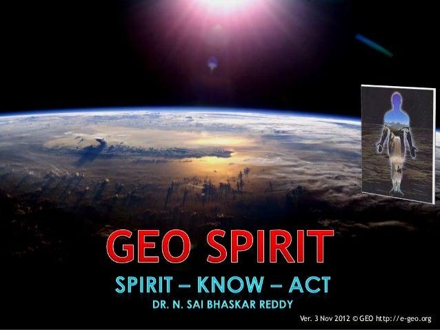 Geo Spirit Officer Trainees