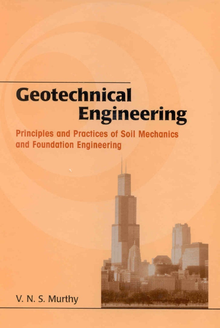Geo technical engineering v n for Soil mechanics pdf