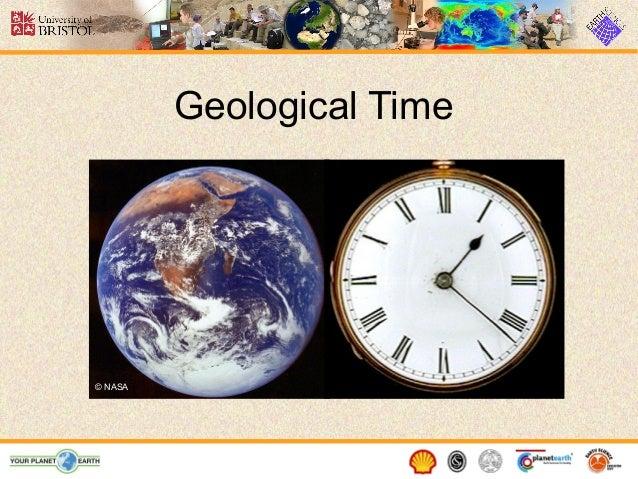 Geological Time © NASA