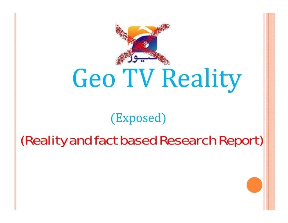Geo Tv Exposed