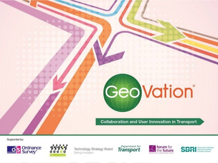 GeoVation - Collaboration and User Innovation in Transport