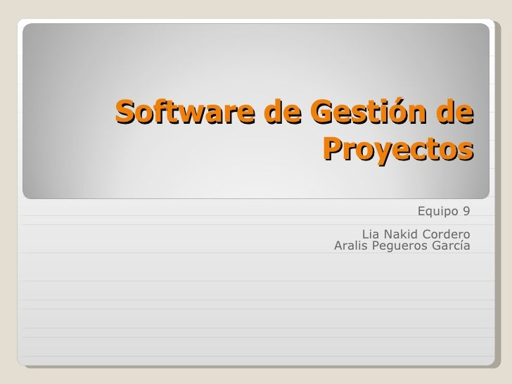 Gep2009 T4 Eq9 Exp Software Gestion Proyectos