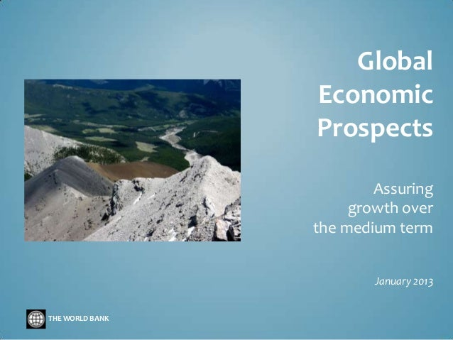 Global Economic Prospects Jan 2013