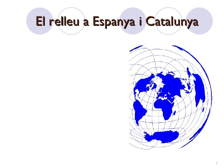 El relleu a Espanya i Catalunya
