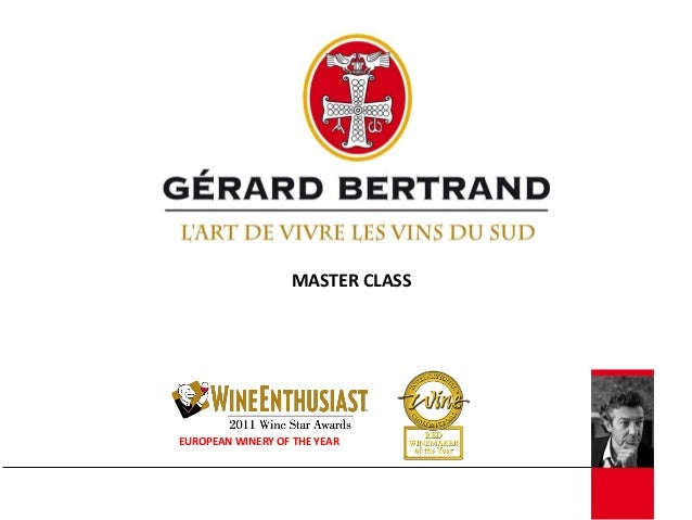 MASTER CLASSEUROPEAN WINERY OF THE YEAR