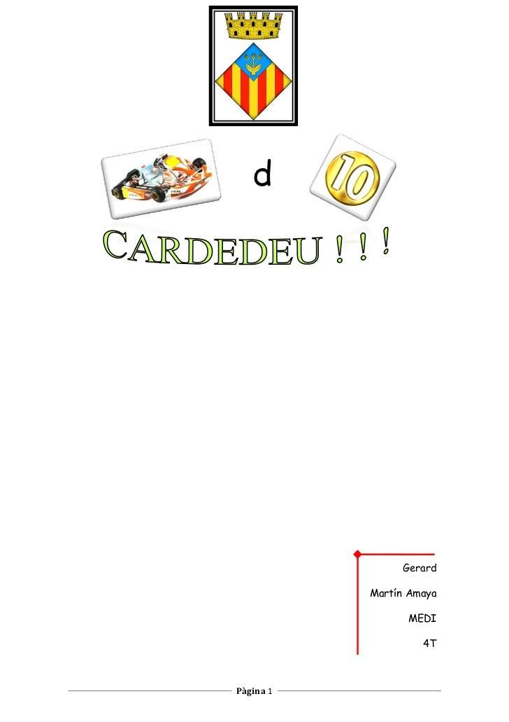 Gerard cardedeu