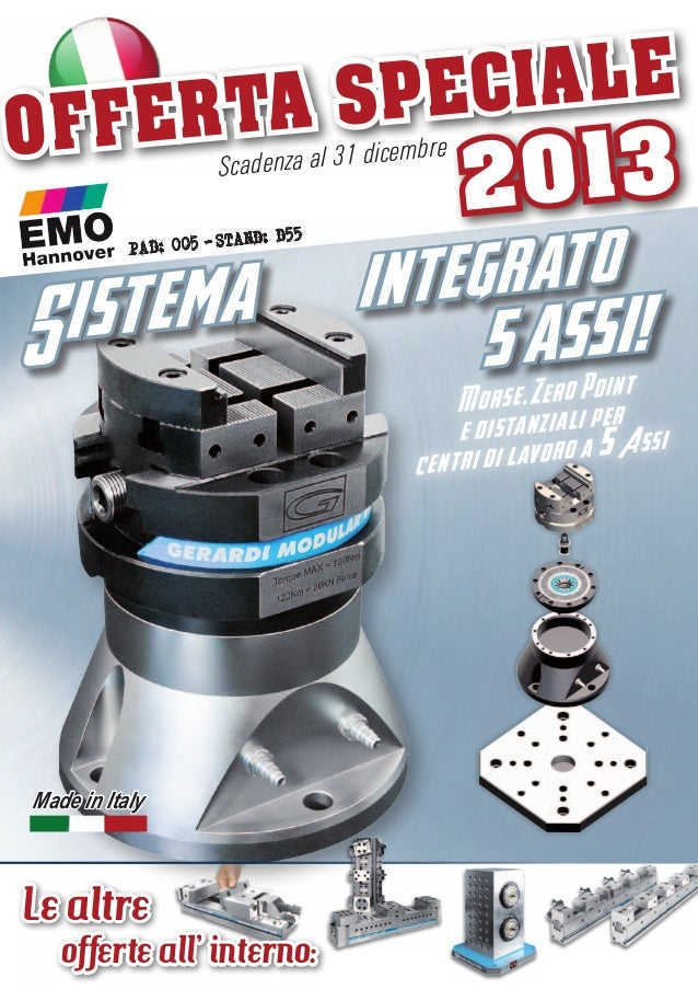 OF  CIALE A SPE FERT icem Scadenza al 31 d  TAND: D55 PAD: 005 - S  st e m a i S  Made in Italy  Le altre  offerte all' in...