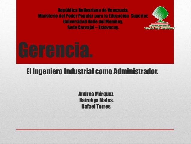 República Bolivariana de Venezuela.    Ministerio del Poder Popular para la Educación Superior.                 Universida...