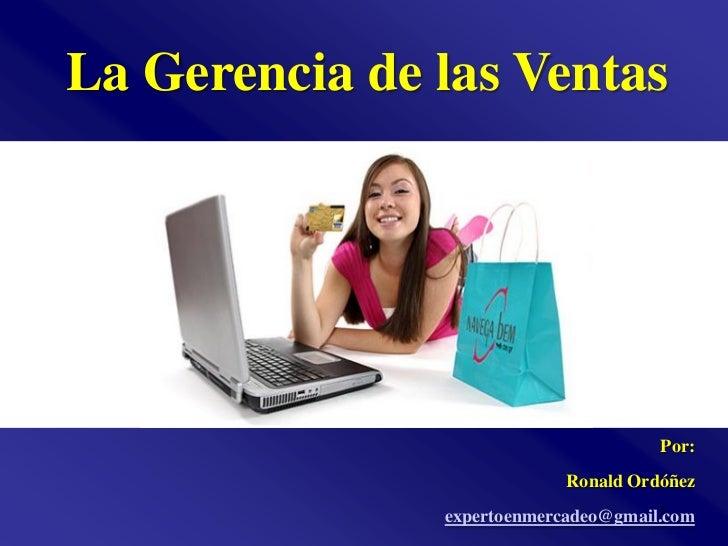 Gerencia de ventas_ronald_ordonez