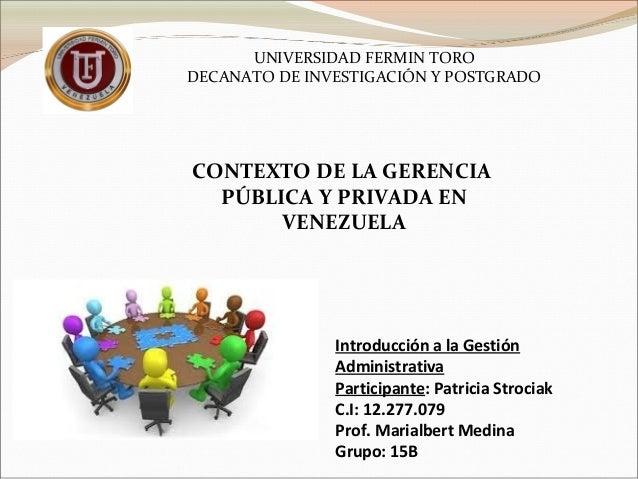introduccion politica publica venezuela: