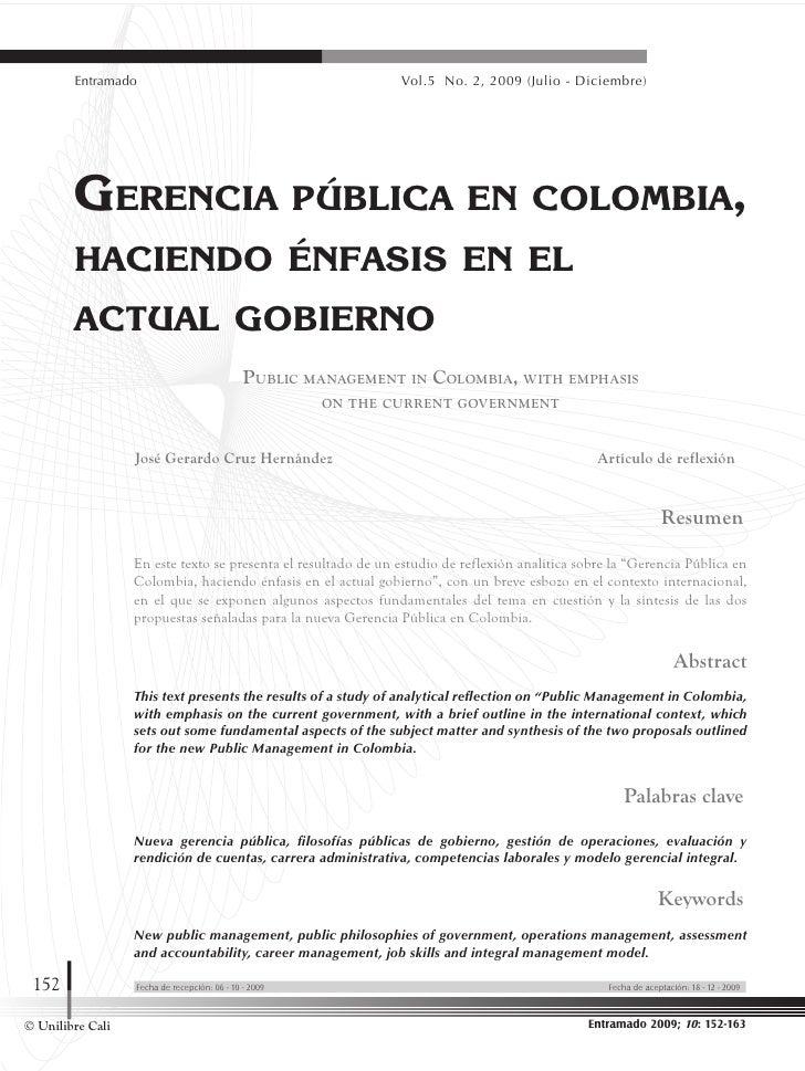 Gerencia publica en_colombia_enfasis_en_el_actual_gobierno