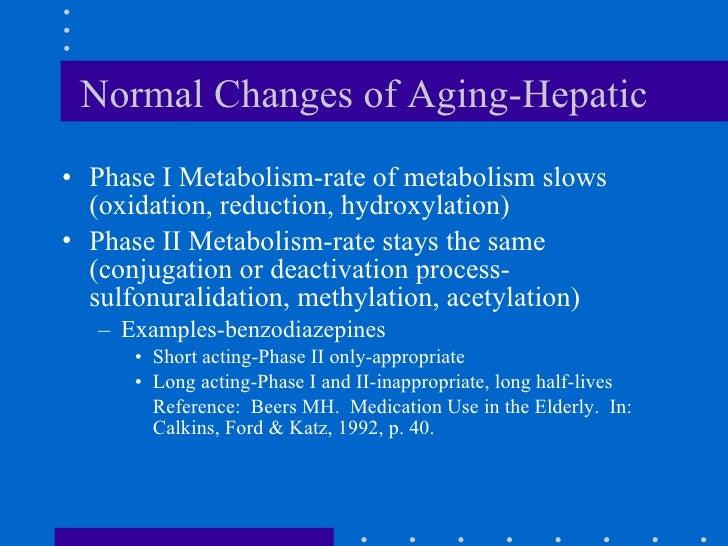 Liver Changes in Hepatitis Changes of Aging-hepatic