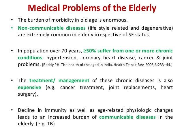 Geriatric Health Needs And Gaps