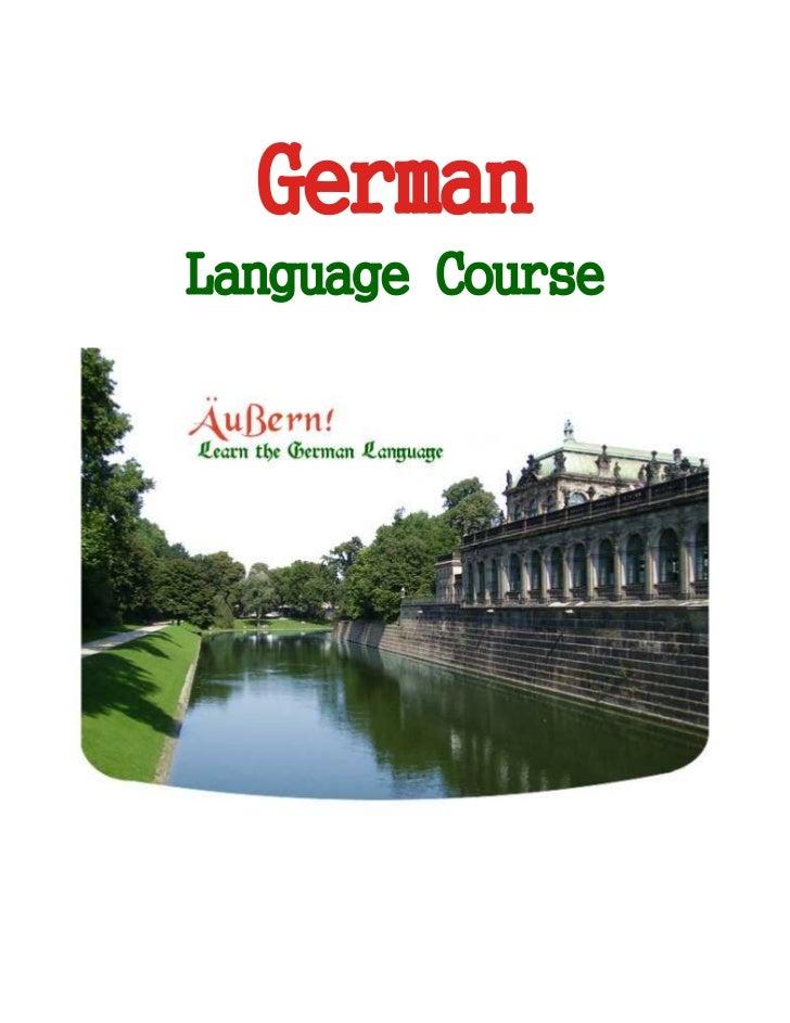 GermanLanguage Course