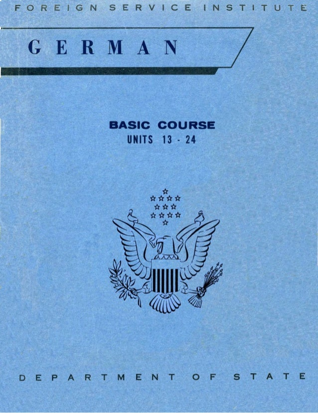 Learn German - FSI Basic Course (Part 2)