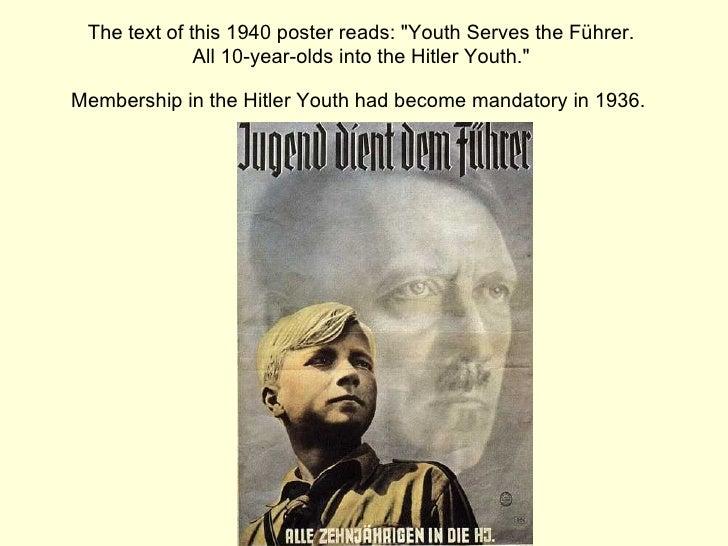 in der Hitler-Jugend.