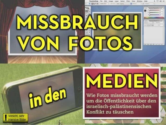 Missbrauch von Fotos in den Medien