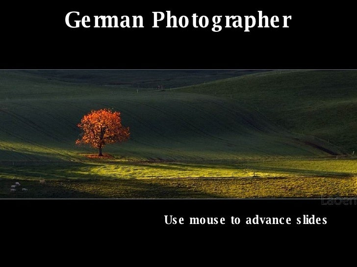 German Photographer