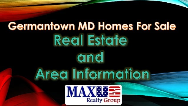 Germantown md homes for sales intro