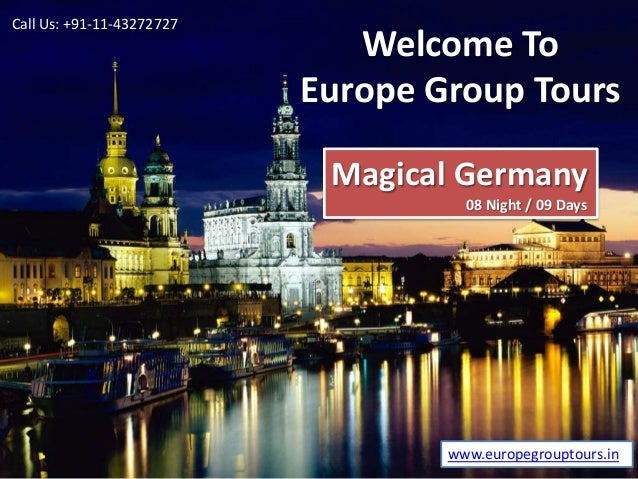 Germany Holiday Tour Packages from Delhi India
