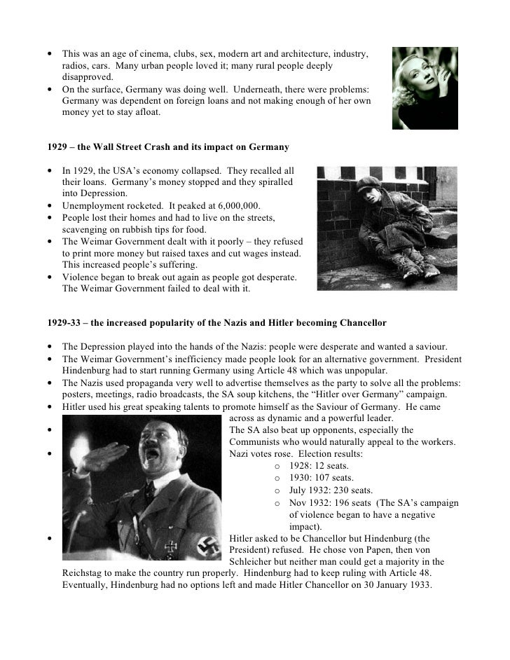 the nazi government essay By 1936 the nazi government had been in power for four years, so that a number of the 430 anti-jewish laws finally decreed by the hitlerian government were already in force alone in 1933, the first year of nazi rule, it was decreed that all jews were dismissed from all government jobs, that no jew could practice medicine, dentistry or the law.