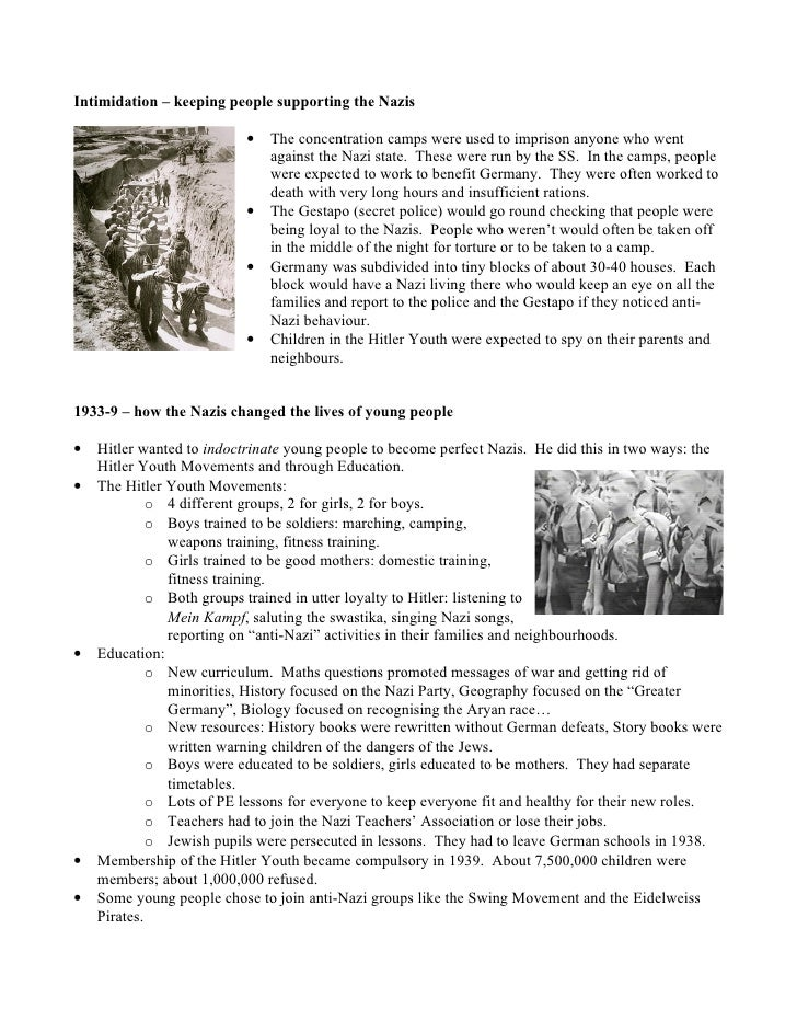 nazi germany and gilead society The social impact of nazism in germany history essay  one would assume that this nazi regime would fail in a society where the people felt content with the .