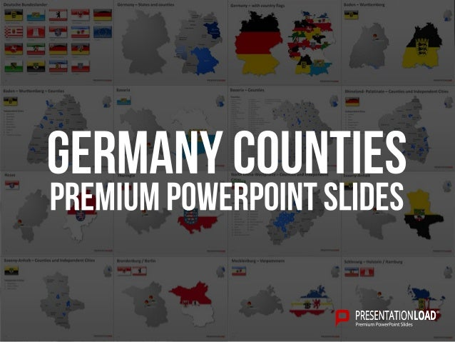 Germany – States and counties  2  Bavaria  Rhineland- Palatinate  Saarland  Baden- Wurttemberg  Thuringia  Hesse  North Rh...