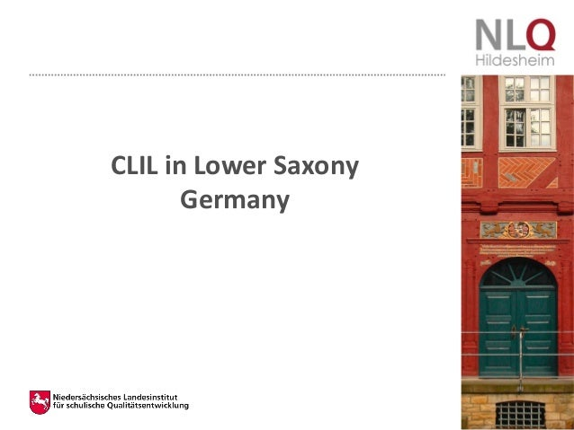 CLIL in Lower SaxonyGermany