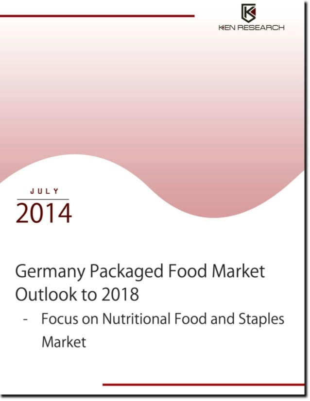 Market Research and Future Outlook of Germany Packaged Food Industry