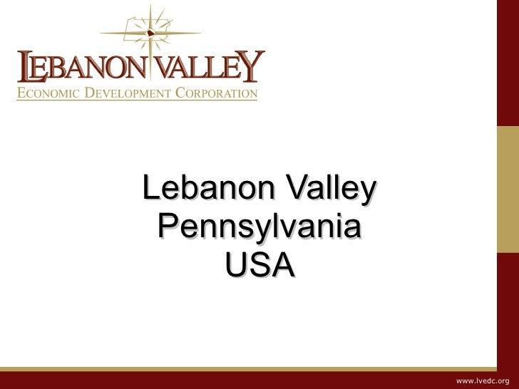 Lebanon Valley Pennsylvania USA