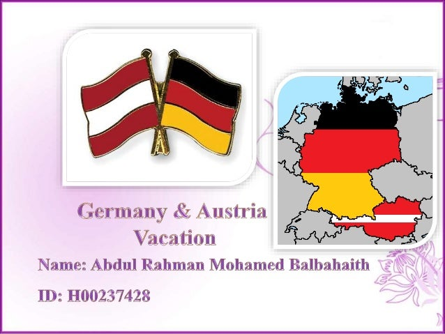 Trip Plan Munich – Germany Zee Lam See – Austria Frankfurt – Germany Contents Kaprun – Austria