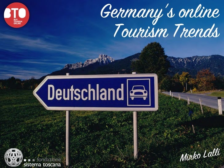Germany's online Tourism Trends          Mirko Lalli