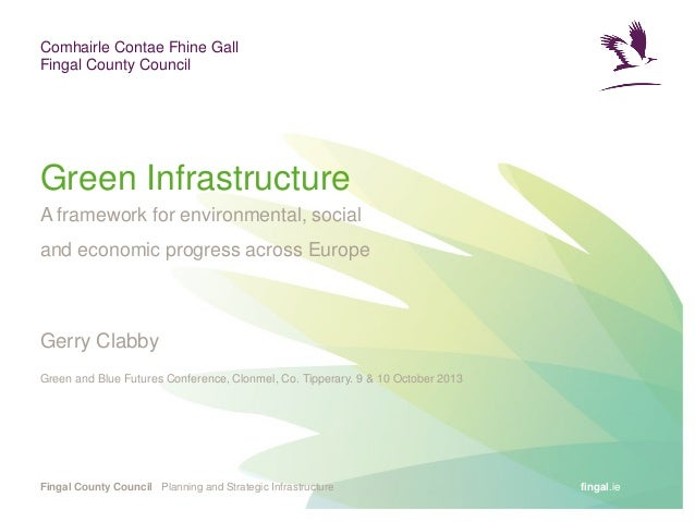 Gerry clabby green infrastructure