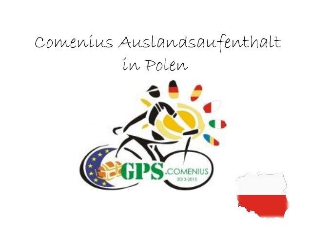 Comenius Auslandsaufenthalt in Polen