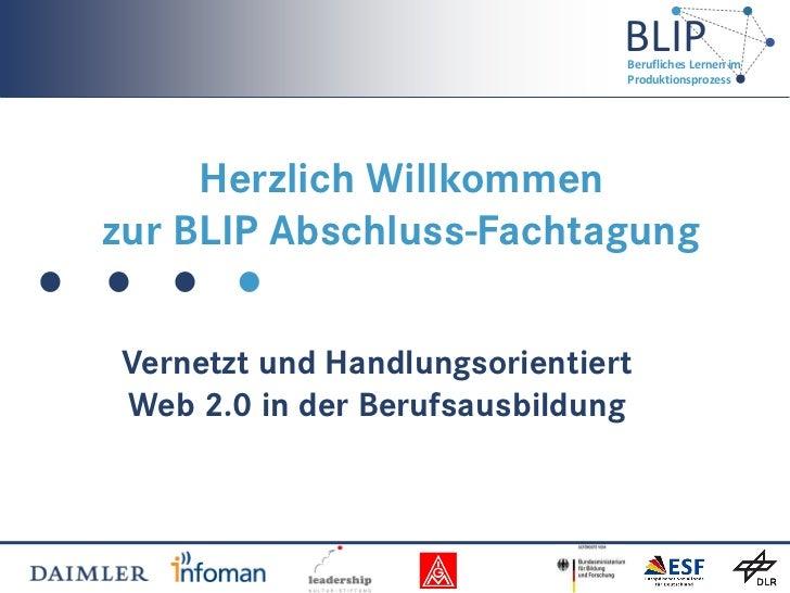 BLIP-Abschlusstagung
