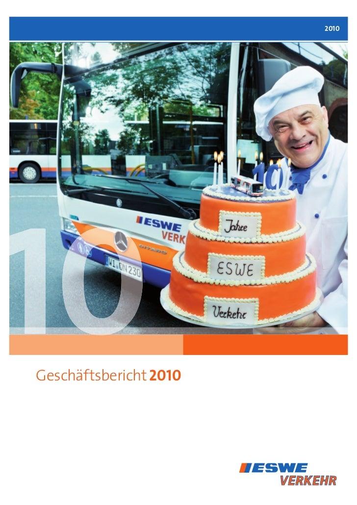 2010Geschäftsbericht 2010