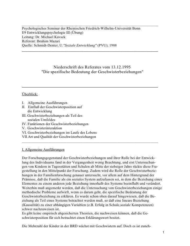 _________________________________________________________________________ Psychologisches Seminar der Rheinischen Friedric...