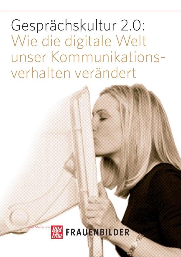 Gespraechskultur 2.0: Wie die digitale Welt unser Kommunikationsverhalten veraendert