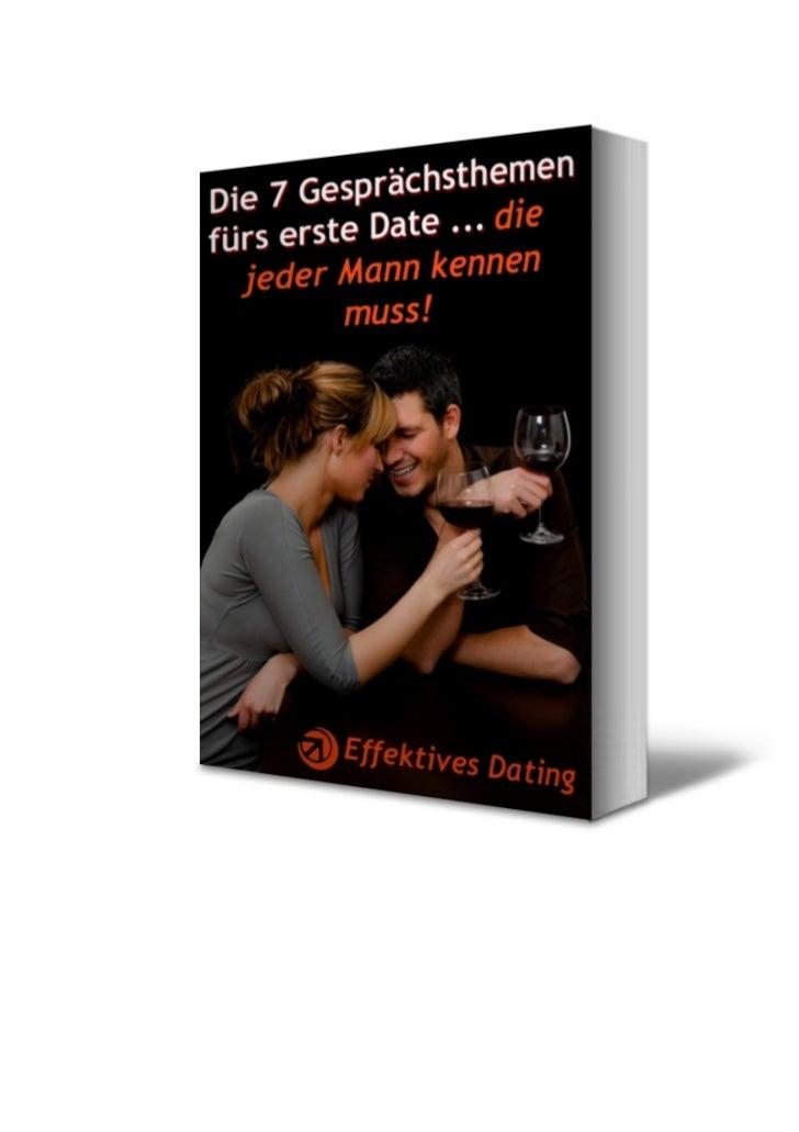 Die 7 Gesprächsthemen fürs erste Date … die jeder Mann kennen muss!