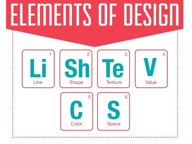 Principles Of Design Shape : Elements of design