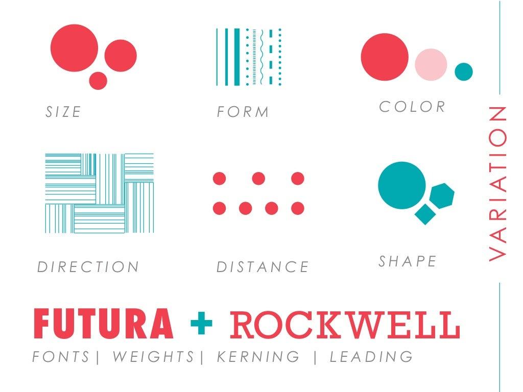 Elements Of Design Direction : Direction form color distance shape