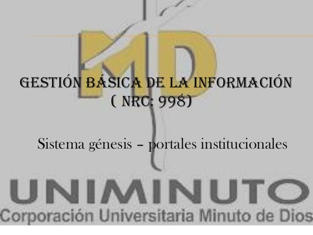 Gestión Básica de la Información Diapositivas
