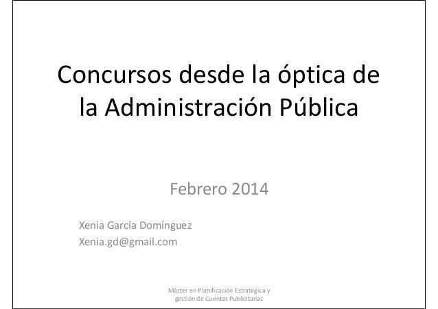 Gestión de cuentas en las Administraciones Públicas